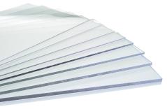Lumex A Clear PETA Rigid Synthetic Sheets Fan Shot