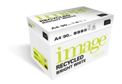 Papier de bureau recyclé - Image Recycled Bright White